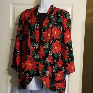 Poinsettia Jacket